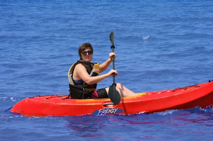 Fleet Kayak lady